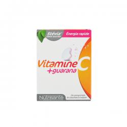 Nutrisante vitamine c + guarana 24 comprimés à croquer