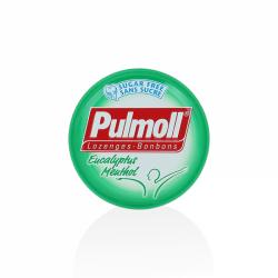 Pulmoll pastilles eucalyptus menthol 45g