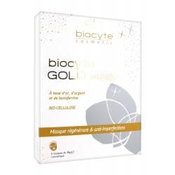 Biocyte gold mask 4 masques