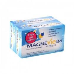 Magnévie b6 100 mg/10 mg 120 comprimés pelliculés