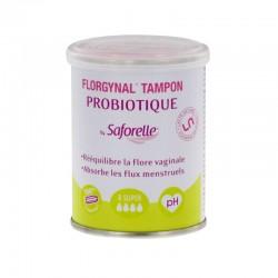 Saforelle Florgynal tampon probiotique super x8