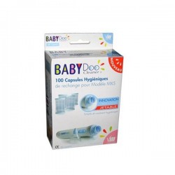 Babydoo capsules hygiéniques de rechange 100 capsules jetables