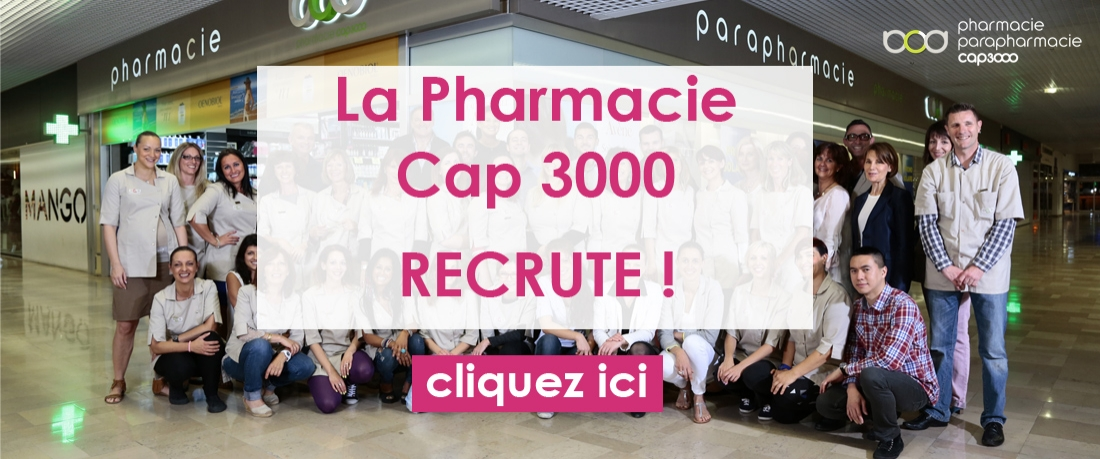 Recrutement Pharmacie Cap 3000